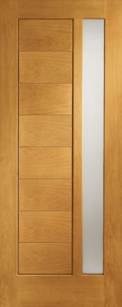 Modena glazed oak external xl joinery doors for Dado arredamenti modena