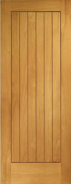 Suffolk Door: T&G Effect *Pre-Finished Oak* 44mm M&T External Door - XL Doors