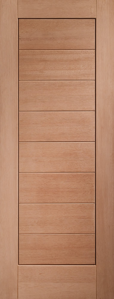 Modena Door: 8-Panel [Hardwood] 44mm M&T External Door - XL Doors