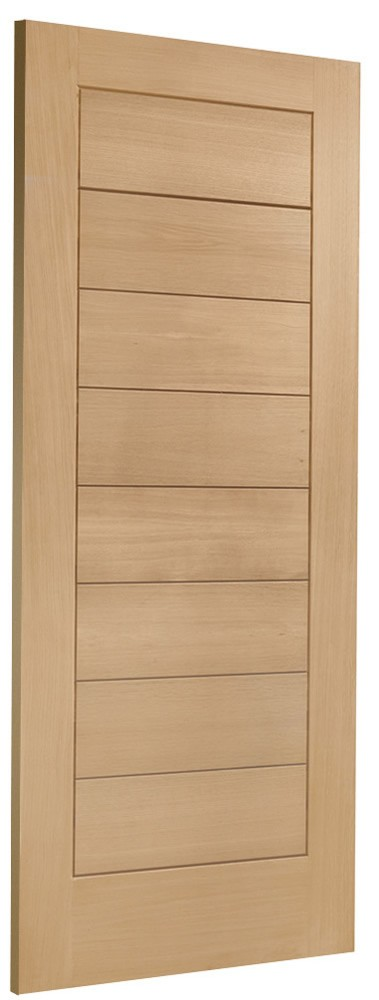 Modena V-Groove Oak External Door