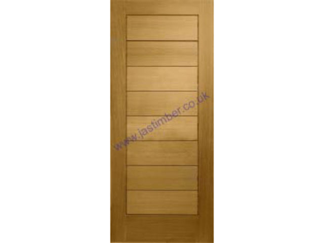 Modena V-groove Oak M&T Door - XL Doors Offer