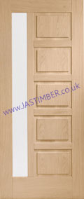 Terni 1-light Glazed Oak External Door - XL Joinery