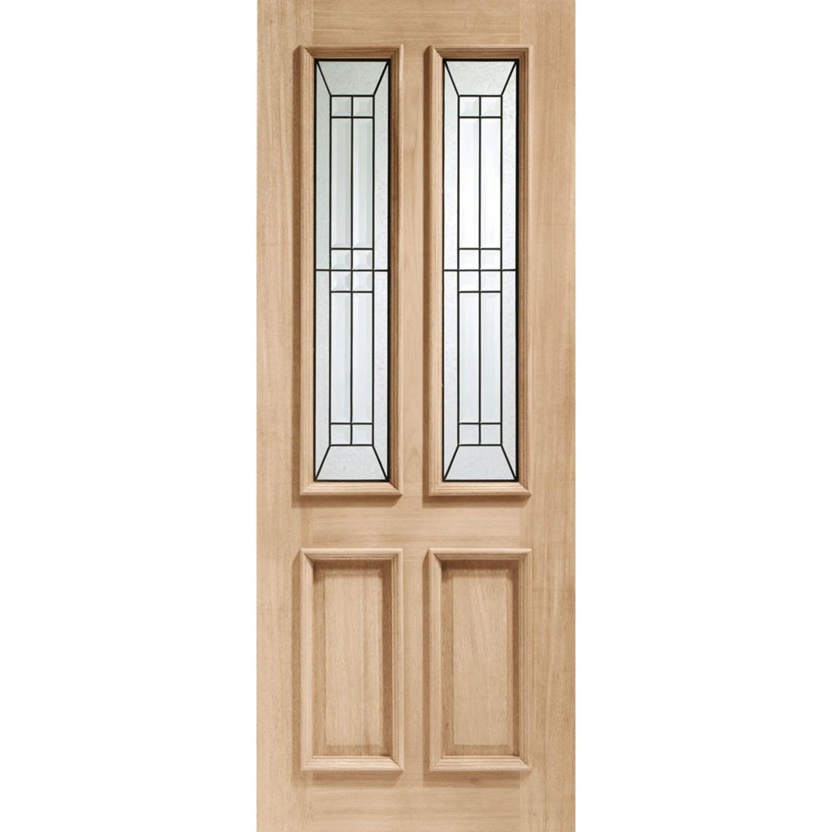 Malton Diamond Glazed Oak External Door ...  sc 1 st  JAS Timber & Malton Diamond Triple-Glazed Oak External XL Joinery Doors