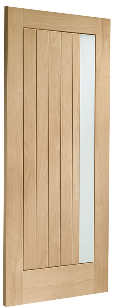 Trieste Double-Glazed Oak External Door