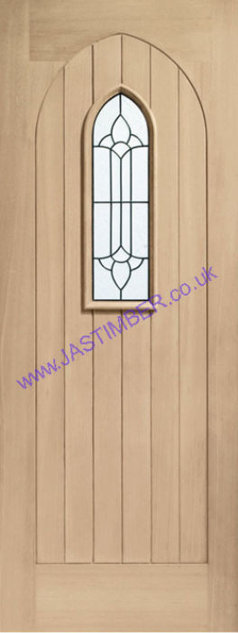 XL Westminster Triple-Glazed Oak External Door