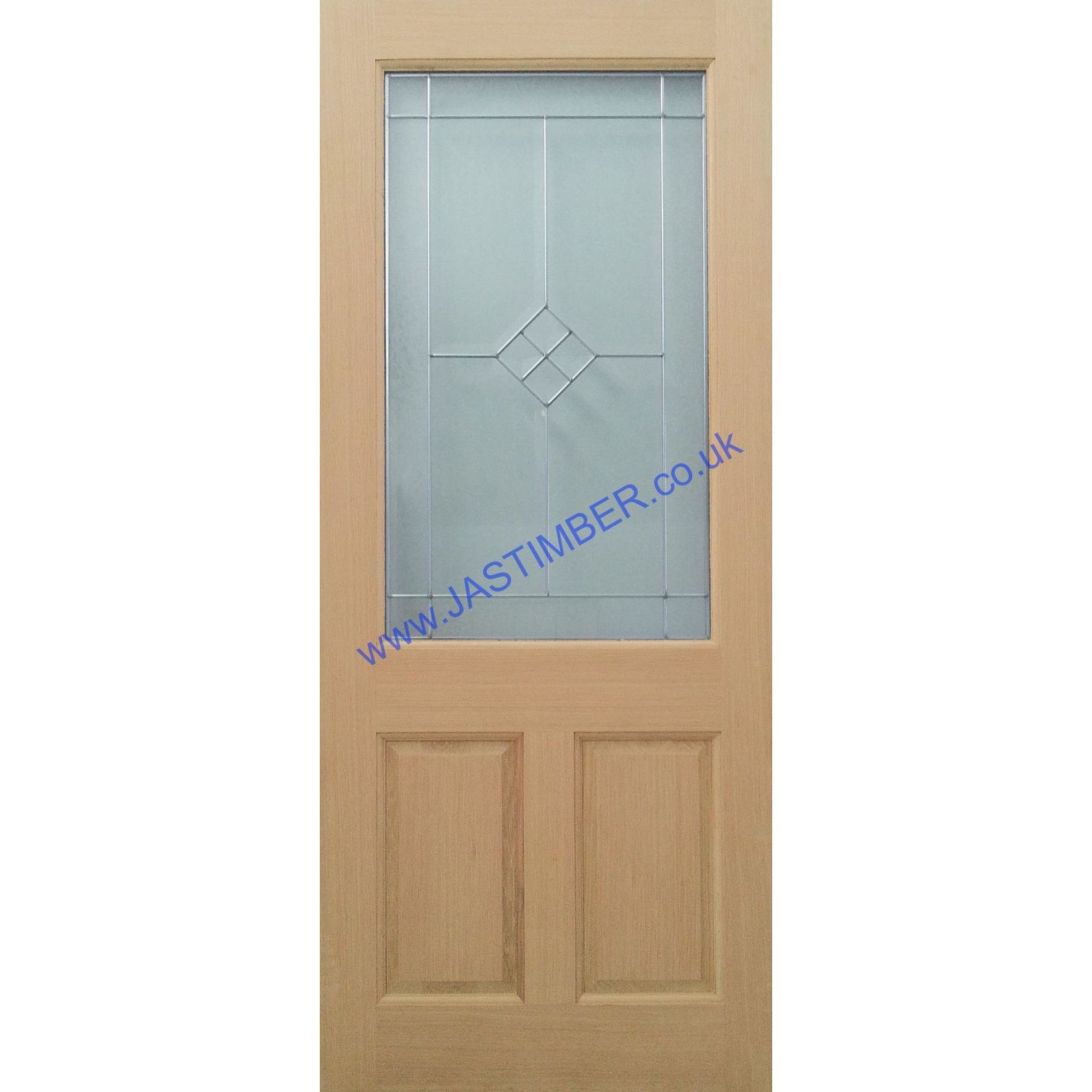 Chichester Triple-Glazed Oak External Door