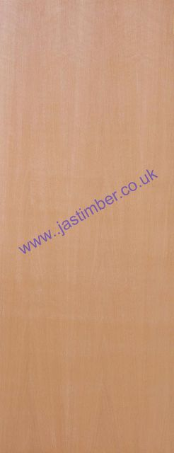 Plywood FD30 IFC Fire Door: Internal Flush-Ply 44mm Half-Hour Firecheck - JB Kind Fire Doors