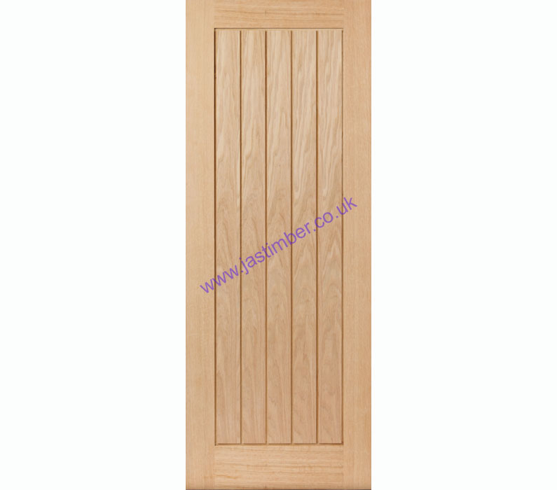 Thames Fire Door FD30 Oak 44mm Internal - JB Kind Doors