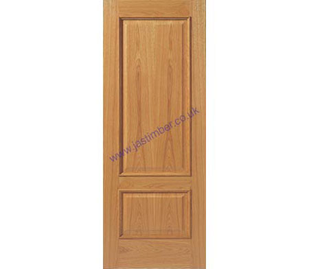12MN FD30 Oak Internal 44mm Fire Door - JB Kind Doors