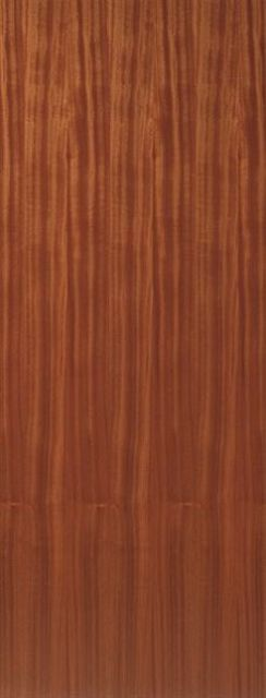 Sapele FD30 Fire Door: FD30 PF.Sapele Flush Internal 44mm 30min. Firecheck - JB Kind Fire Doors