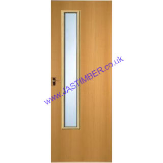 Premdor glazed vision panel timber fire doors jas timber for Door vision panel
