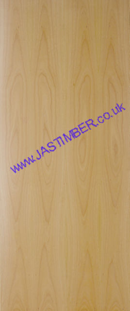 Beech FD30 Flush Fire Door - 44mm Prefinished Beech-Veneer Internal Half-Hour Firecheck - Select Size and Options from Menu