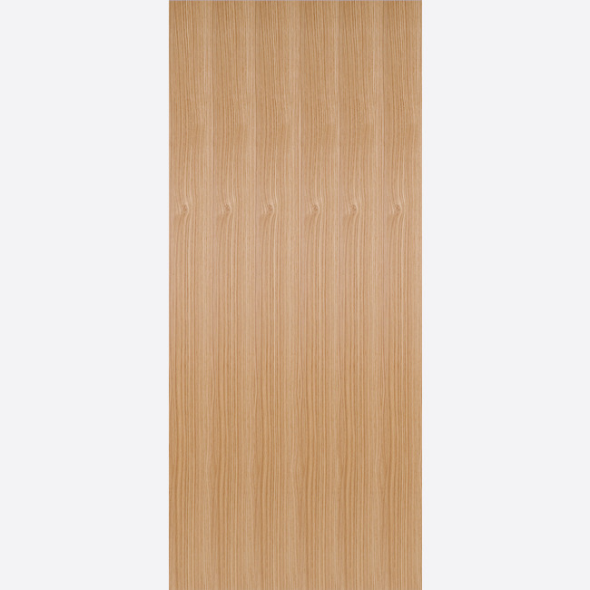 Oak-Flush Fire Door
