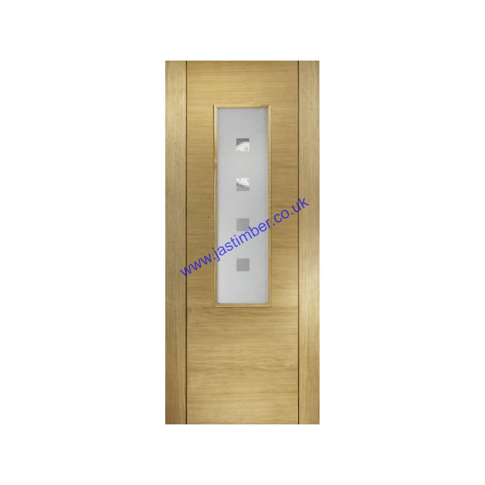 LPD Supermodels - Oak Coruna FD30 4-Light Glazed Fire Doors;nCoruna Glazed Fire Doors are Independently FD30 Fire Resistant Certified by Chiltern International Fire Ltd.