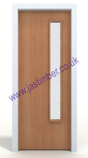 Made To Size Fd30 Beech Vp Fire Door
