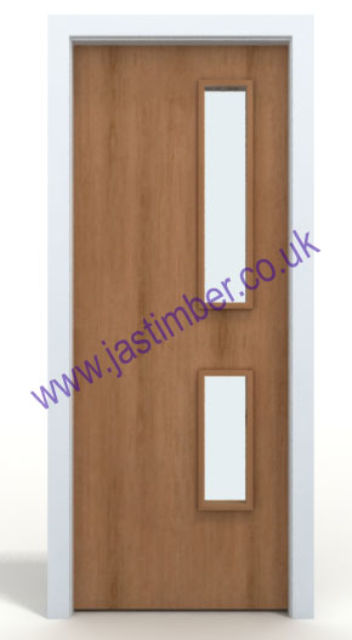 CHERRY Fire Door MtM - Made to Measure 44mm Internal FD30 - Prefinished Door-Facings