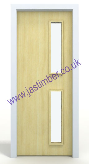 ... Koto Glazed FD30 Fire-Door Made to Size - 5G VP ...  sc 1 st  JAS Timber & Premdor FD30 Koto Glazed VP Fire Door discontinued