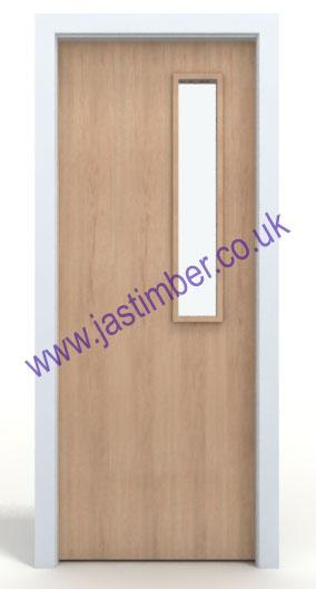 ... Maple 3G Glazed FD30 Fire Door ...  sc 1 st  JAS Timber & Made to Size FD60 WALNUT VP Fire Door