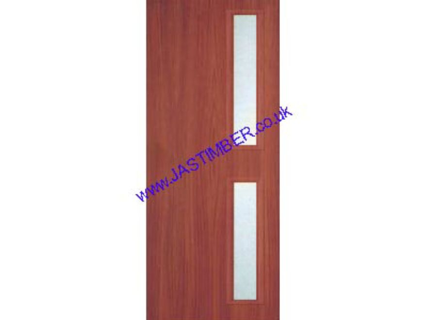 Fire Check Door With Vision Panel