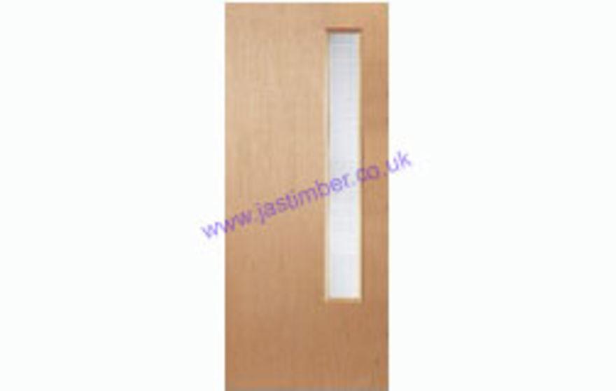 ... Ply 1G Glazed VP Fire Door ...  sc 1 st  JAS Timber & Premdor FD30 Popular Glazed VP Half-Hour Fire Door