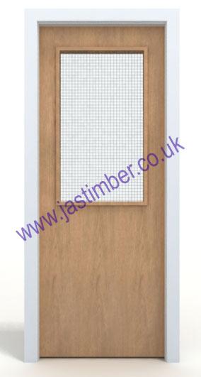 Premdor glazed vp fd60 oak fire door for 1 hour fire door specification