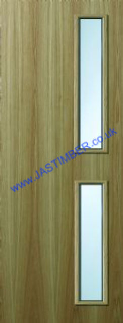 Vision Panel Fire Doors - Glazed to Order
