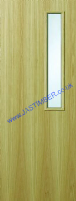 KOTO Glazed VP Fire Door - 44mm Internal PREMDOR FD30 with Vision Panel GtO