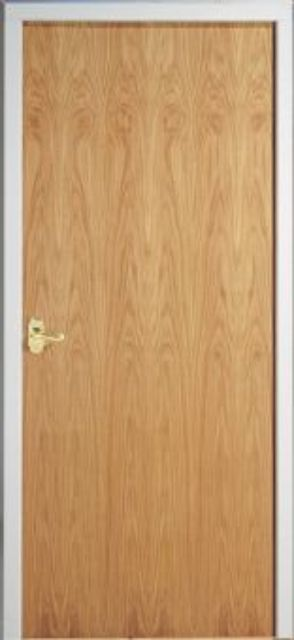 Oak FD60 Fire Door - Firemaster White Oak FD60 54mm Internal 60 minute Firecheck - Premdor®