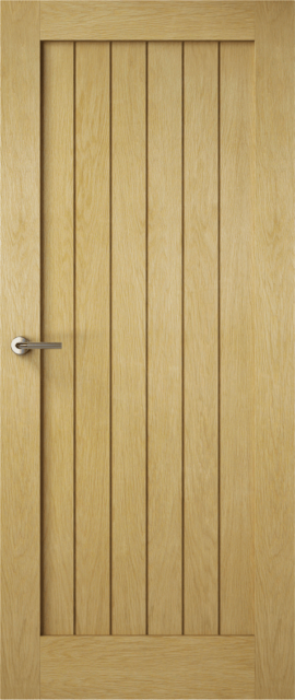 Premdor® Oak Recessed Panel Fire Doors