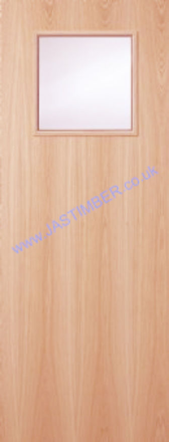 Plywood-1G-Fire-Door