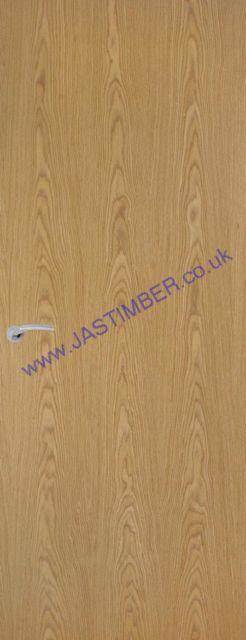 Oak Veneer Match Fire Door - Fireshield FD30 44mm Interna 30min.l Firecheck - Oak colour Real-Veneer - Premdor®