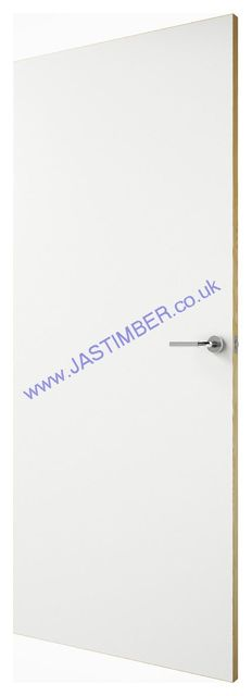 White Laminate Fire Door - Fireshield™ FD30 44mm Internal White-HPL Half-Hour Firecheck - Premdor® Fire Doors