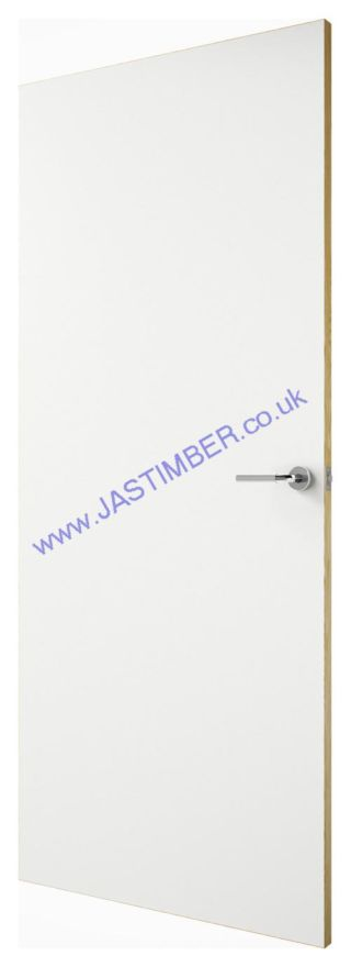 White Laminate FD30 Interior Fire Doors