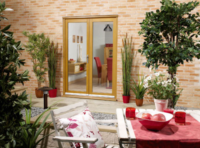 NuVu FRENCH DOORS: Glazed *Pre-Finished OAK* French Doors - LPD Doors