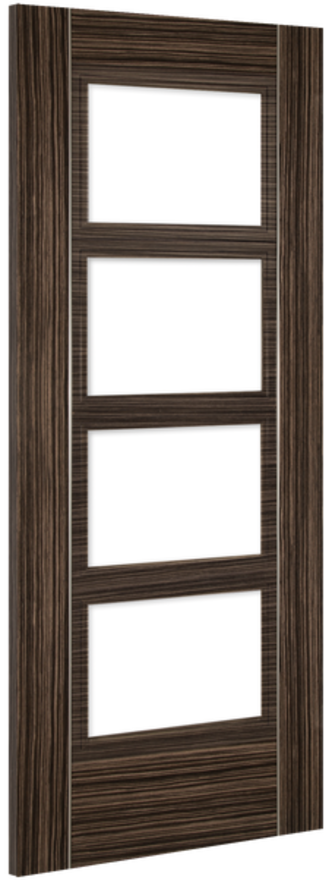 Deanta Calgary Glazed Abachi Wood Internal Doors