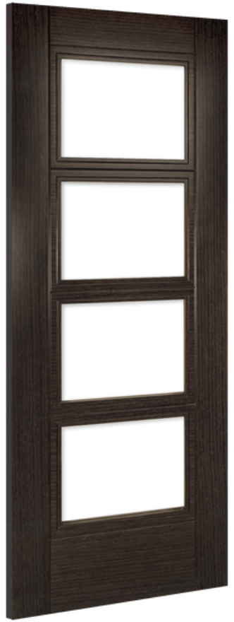 Deanta Montreal Glazed Dark Grey Ash Internal Doors