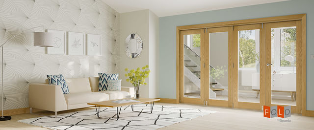 Deanta-Fold® Oak Internal Door Frame System - Deanta Doors®