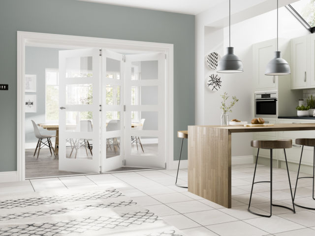 Deanta Fold® White-Primed Internal Door-Frame System - Deanta Doors®