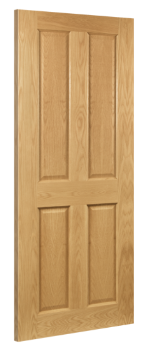 Bury 4-Panel Oak Internal Door