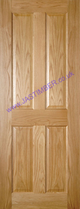 Deanta Bury 4-Panel Oak Internal Door