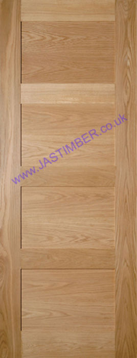 Deanta Coventry 4P Oak solid Int. Door