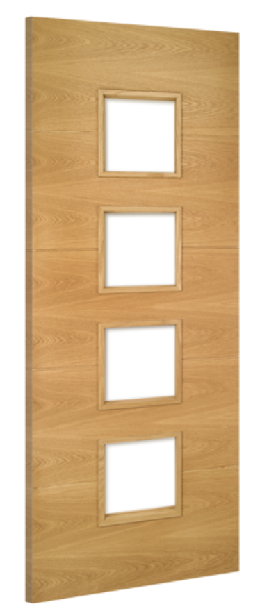 Deanta Augusta Unglazed Oak Internal Door