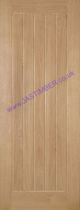 Deanta Ely T&G Oak Internal Door