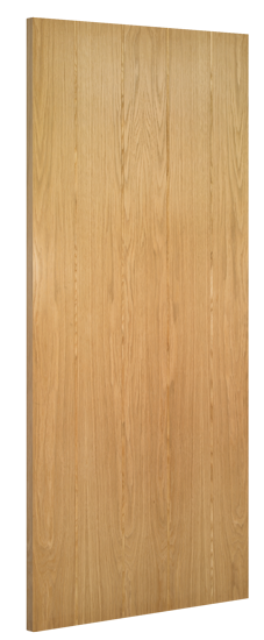 Galway Fire Door: FD30 T&G *Unfinished Oak* 45mm Internal Fire Door - Deanta Doors