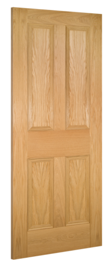 Kingston 4-Panel Oak Internal Door
