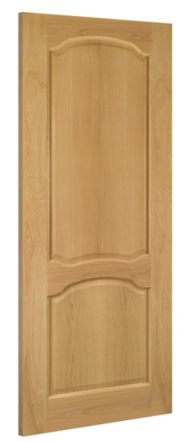 Louis 2-Panel Oak Internal Door