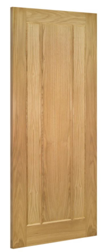 Norwich 3-Panel Oak Internal Door