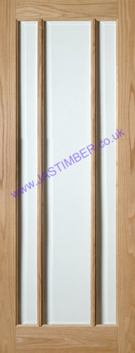 Deanta Norwich Glazed Oak Internal Door