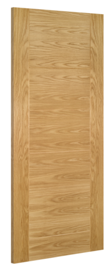 Seville Flush Oak Internal Door