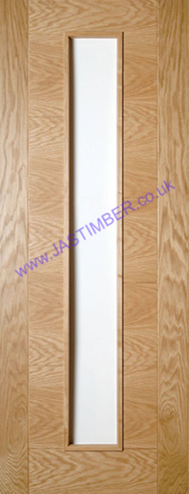 Deanta Seville Unglazed Oak Internal Door